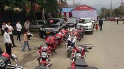 """Truy tìm dàn mô tô không mũ bảo hiểm hộ tống """"siêu đám cưới"""" ở Hà Tĩnh"""