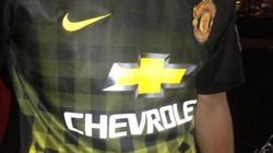 Lộ áo đấu sân khách của M.U mùa giải 2014 -2015