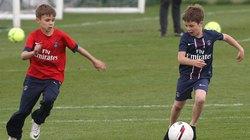 """""""Ngó lơ"""" M.U, Beckham cho 2 quý tử gia nhập Arsenal"""