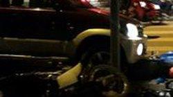 Đến hiện trường vụ Daihatsu Terios 7 chỗ húc tung 9 xe máy chờ đèn đỏ