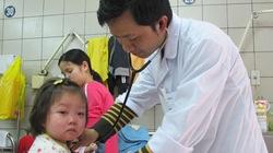 Nhiều trẻ bị biến chứng sởi nặng