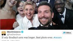 Twitter lập kỷ lục mới nhờ bức ảnh gây bão tại giải Oscar