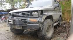 Cả gia đình tài xế xe Land Cruiser túc trực dõi theo tình hình nữ sinh bị nạn
