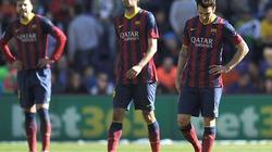 Barcelona rớt giá