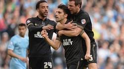 Man City 1-2 Wigan: Nỗi đau thêm dài
