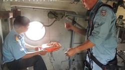 Chùm ảnh PV Dân Việt cùng trực thăng tìm kiếm máy bay Malaysia mất tích