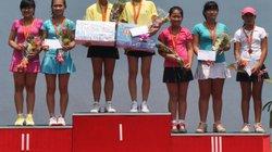 Giải quần vợt vô địch nữ toàn quốc: Đoàn TP.HCM thắng lớn