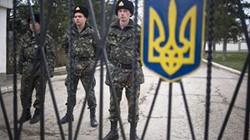 """""""Ngày càng nhiều binh sĩ Ukraine tại Crimea đào ngũ"""""""