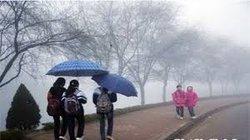 Đông Bắc Bộ tiếp tục mưa nhỏ, trời ẩm