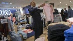 Tổng thống Obama mua áo Made in Việt Nam tặng vợ