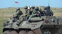 Nga tăng tập trận gần biên giới Ukraine