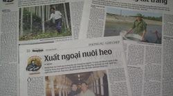Cuộc thi viết Tự hào Nông dân Việt: Tôn vinh gương sáng làm giàu
