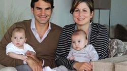 Federer lại chuẩn bị đón thêm... một cặp song sinh?