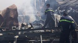 Bình Dương: Cháy lớn suốt 5 giờ tại Nhà máy Gỗ Khải Nguyên