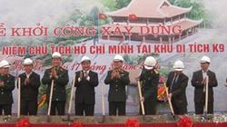 Khởi công Nhà tưởng niệm Chủ tịch Hồ Chí Minh tại khu K9