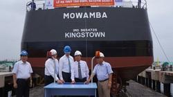 Đà Nẵng: Hạ thủy tàu chở dầu cho Tập đoàn Damen