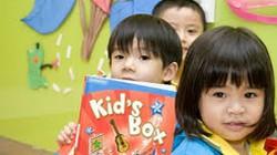Thí điểm dạy ngoại ngữ cho trẻ mầm non