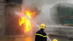 Cháy lớn tại nhà máy gỗ MDF Quảng Trị