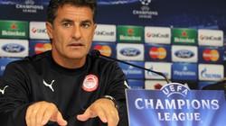 """HLV Olympiacos tuyên bố sẽ """"kéo sập"""" pháo đài Old Trafford"""