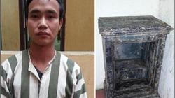 Trộm két sắt từ Hà Nội, mang về quê phá lấy vàng