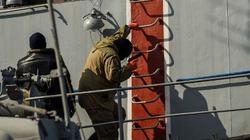Tận mắt cảnh lính bịt mặt chiếm quyền kiểm soát tàu chiến Ukraine
