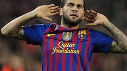 Alves hướng tới kỷ lục trước Real Madrid
