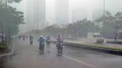 Miền Bắc xuất hiện mưa vừa kéo dài