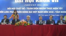 """Ông Lê Hùng Dũng trình bày """"bí kíp"""" giúp bóng đá Việt Nam lột xác"""