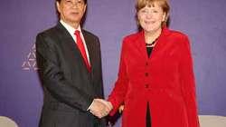 Bà Merkel mời Thủ tướng Nguyễn Tấn Dũng thăm Đức