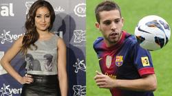 """Nữ diễn viên xinh đẹp dính """"lưới tình"""" sao Barcelona"""