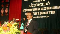 Hà Nội: Ra mắt lãnh đạo hai quận mới