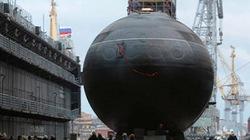 Tàu ngầm Kilo thứ 4 đóng cho Việt Nam đã hạ thủy thành công