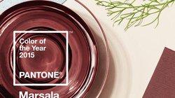 """Màu rượu vang đỏ: Gam màu """"hot"""" nhất năm 2015"""
