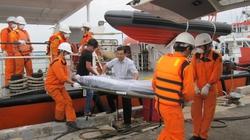 Đưa thủy thủ tàu nước ngoài bị chìm về cảng Vũng Tàu