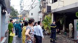 TP.HCM: Cháy khách sạn vì nổ điện thoại, khách tháo chạy