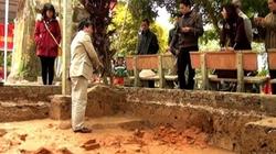 Tìm thấy dấu tích cung điện nhà Trần tại Thái Bình