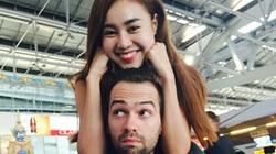 Lan Ngọc tình cảm với bạn nhảy ở Thái Lan