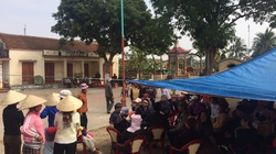 Hải Phòng: Dân giữ chủ tịch xã trong chùa