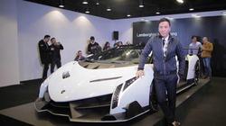 Lamborghini Veneno Roadster đến Hồng Kông