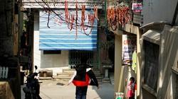 Hà Nội: Đặc sản ngày Tết phơi trên dây điện