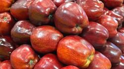 TP.HCM: Táo nhập từ Mỹ vẫn bày bán tại một số siêu thị lớn