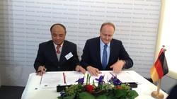 Hội Nông dân VN - Hội Nông dân Đức ký kết hợp tác dạy nghề 2015 - 2017