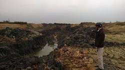 Thanh Hoá: Doanh nghiệp khai thác đất làm gạch, phá hoại sản xuất