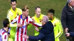 Hy hữu: Đội trưởng Atletico bị đuổi trong đường hầm