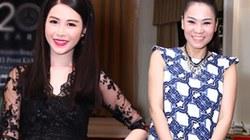 Vợ Đăng Khôi mặc xuyên thấu, đối lập bà bầu Thu Minh