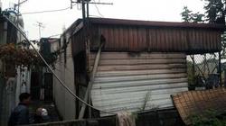 Hà Nội: Lửa thiêu rụi nhà dân, bé 5 tuổi thoát nạn