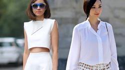Quan niệm thời trang sai lầm về màu trắng