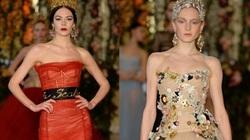 Một Dolce&Gabbana lộng lẫy và nữ tính tới nao lòng