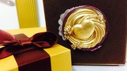 Chocolate sứ phủ vàng 24k 'cháy' hàng dịp Valentine