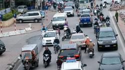 Đường 3 làn xe ngược chiều duy nhất ở Thủ đô